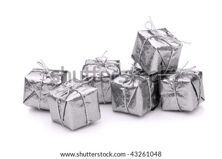 gift isolated - stock photo