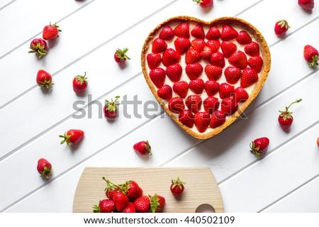 gift on Valentine's Day - stock photo