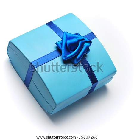 Gift surprise - stock photo
