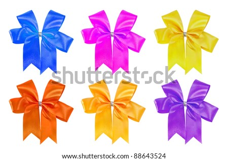 Gift wrap ribbon.
