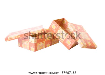 Gift-wrapping - stock photo