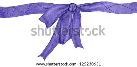 giftcard ribbon with bowknot