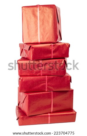 gifts 7 - stock photo