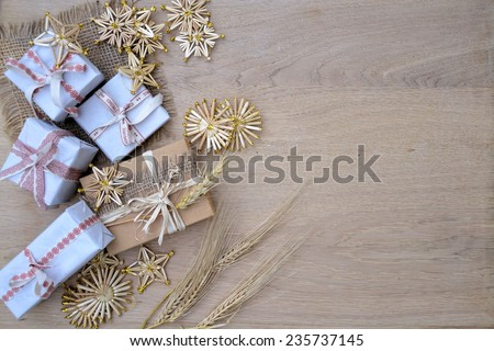gifts .background - stock photo