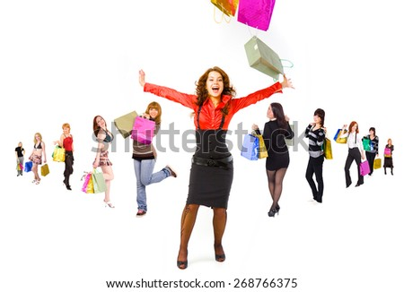 Gifts Ideas Buying Things  - stock photo