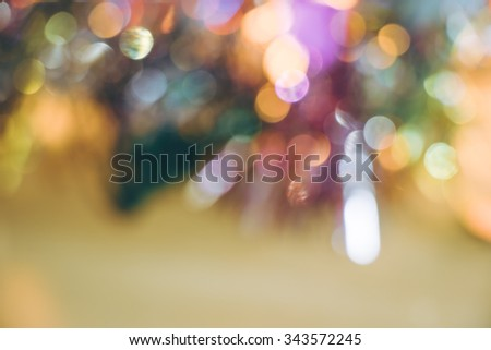 Gifts & presents and Ornament Christmas decorate at Merry Christmas and happy new year - stock photo