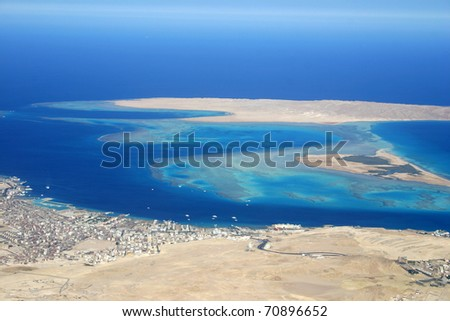 Giftun Island - Hurghada/Egypt - stock photo