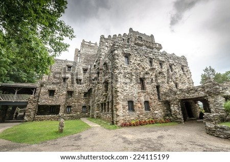 Gillette Castle - stock photo