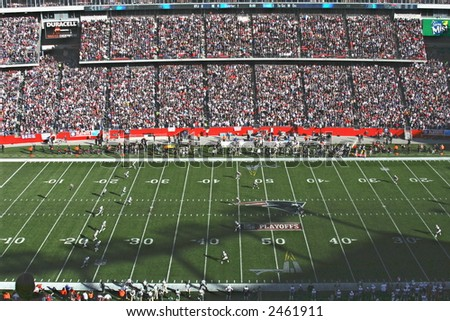 Gillette Stadium - stock photo