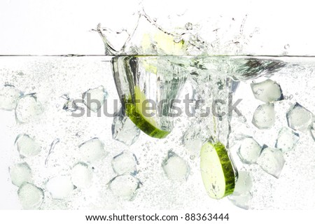gin tonic - stock photo