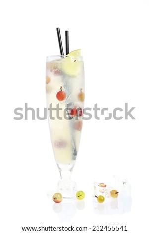 ginger lemonade - stock photo