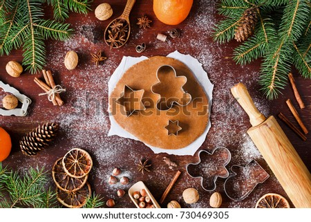 Pastry cutter stock images royalty free images vectors for Baking oranges for christmas decoration