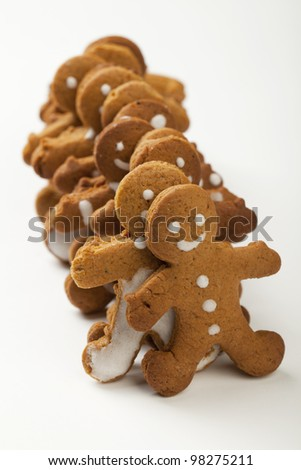 Gingerbread Man in the convoy