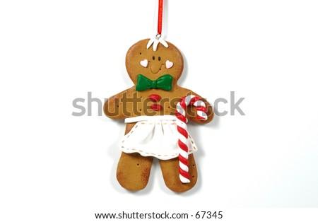 Gingerbread Ornament - stock photo