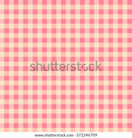 Gingham Pattern - stock photo