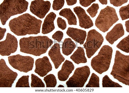 Giraffe spots - stock photo