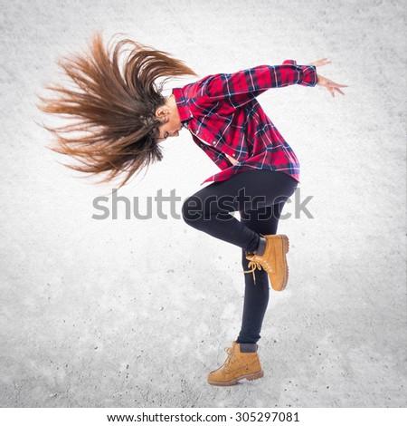 girl dancing hip hop stock photo edit now 305297081 shutterstock
