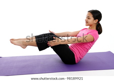 teen yoga stock images royaltyfree images  vectors