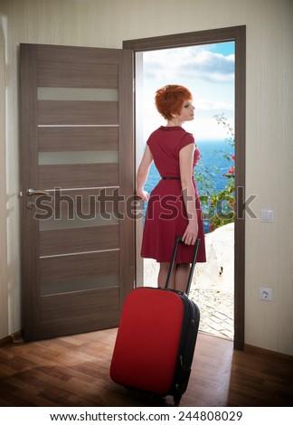 Walking Out Door Clipart