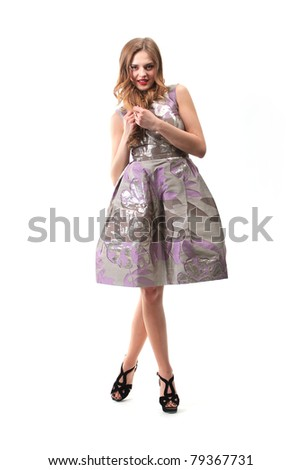 girl mannequin - stock photo
