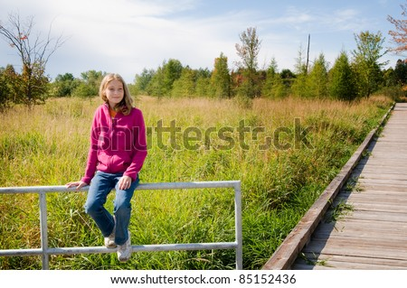 girl out in nature