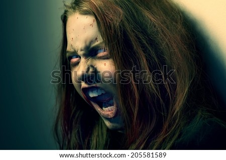 Girl possessed by a demon. In Conspiracy With Satan