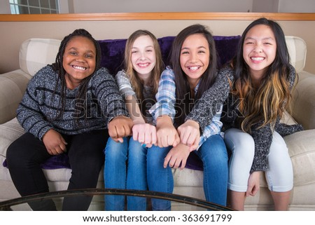 Girl Power - stock photo