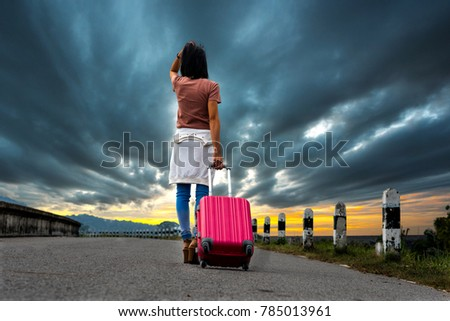 girl run away from home without destination