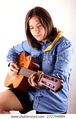 Girl scout - stock photo
