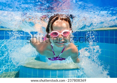 Girl smiles - stock photo