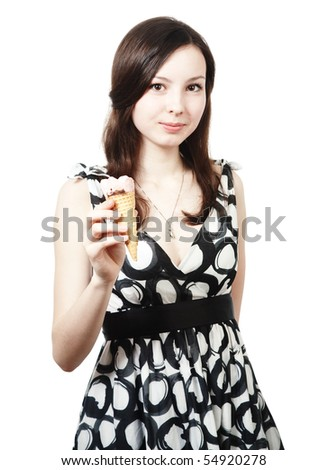 girl with ice0cream