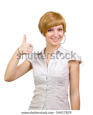 girl with thumb