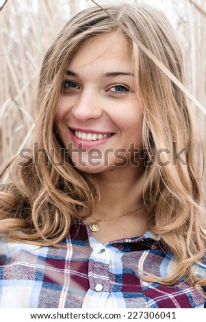 girl, woman , dream, escape, to smile , to hope , to wait , to trust , faith , laughter , hair, hands, eyes , smile, teeth , horizon, dress, coat , shirt, snow, winter, tree , run, away , nose, teeth