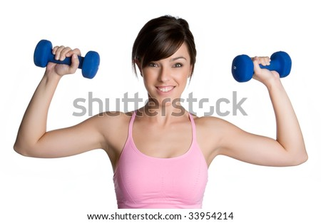 Girl Working Out