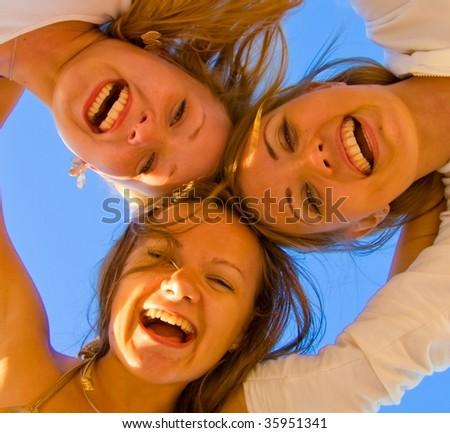 girls - stock photo