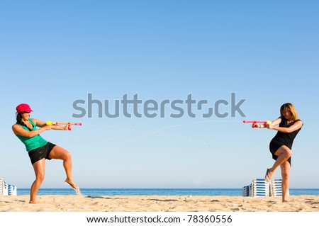 Girls wanna have fun - stock photo