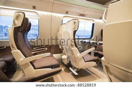 Given the comfortable seats of the train