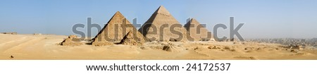 Giza Panorama - stock photo