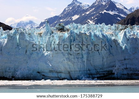 Glacier Bay - stock photo