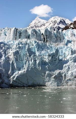 Glacier Bay in Alaska Passage - stock photo