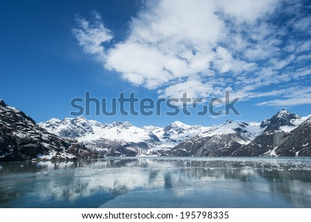 Glacier Bay National Park Alaska - stock photo