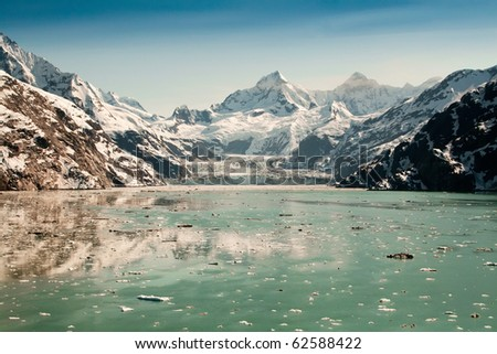 Glacier Bay National Park, Alaska - stock photo