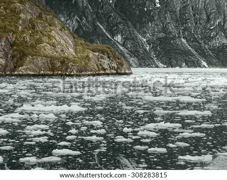 Glacier Bay National Park, Alaska, USA - stock photo
