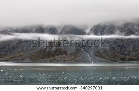 Glacier Bay - 2015 November - stock photo