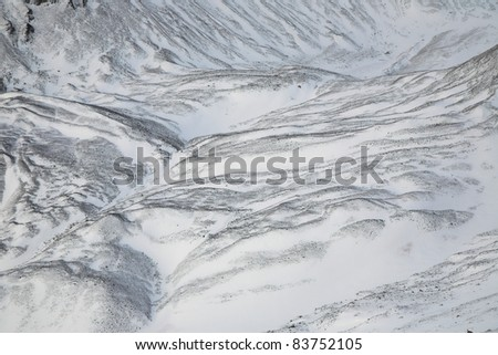 Glacier moraine is any glacially formed accumulation of unconsolidated glacial debris (soil and rock) which can occur in currently glaciated and formerly glaciated regions