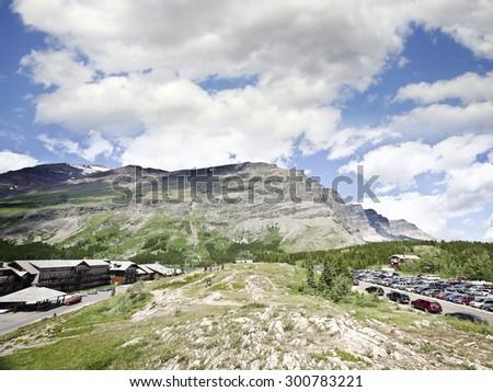 Glacier National Park - stock photo