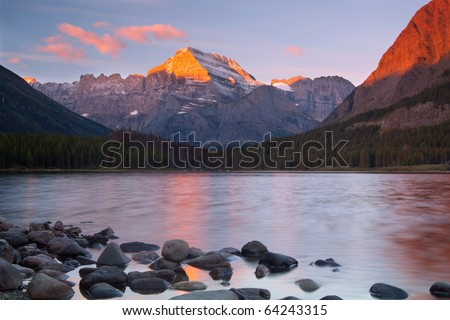Glacier National Park, Montana - stock photo