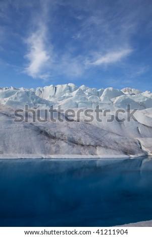 Glacier Pool - stock photo