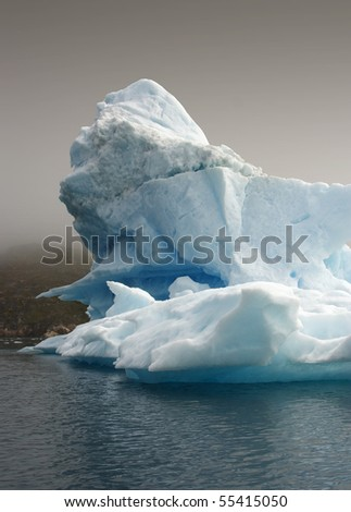 Glaciers and icebergs of Greenland 5 - stock photo