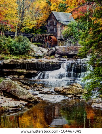 Glade Creek Mill HDR
